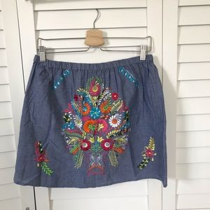 ASOS Mexico Inspired Embroidered Skirt